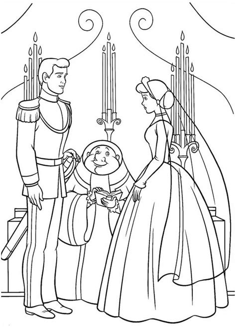 cinderella mouse coloring pages mickey and minnie mouse get married google search