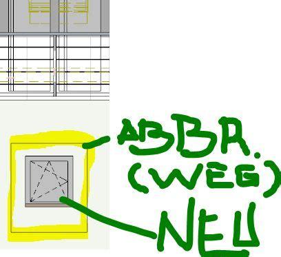Darstellung Fenster Ansicht by Archicad Forum Thema Anzeigen Darstellung Abbruch