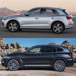 Bmw X3 Vs Audi Q5 Photo Comparison 2018 Audi Q5 Vs 2018 Bmw X3