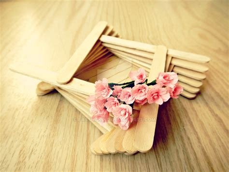 ice cream sticks latest crafts diy wooden box ice cream stick craft by easshaking on