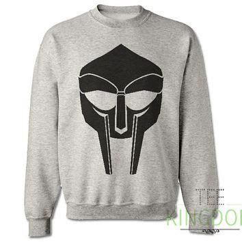 Murah Sweater Bad Danger White mf m f doom sweatshirt sweater jumper from teekingdom on etsy