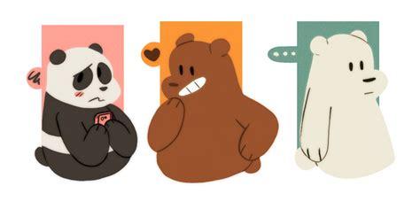 Stiker We Bare Bears Polar Lucu Imut we bare bears wallpaper wallpapersafari