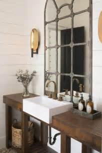 Vanity Tray Sets Rustic Washstand With Apron Sink Cottage Bathroom