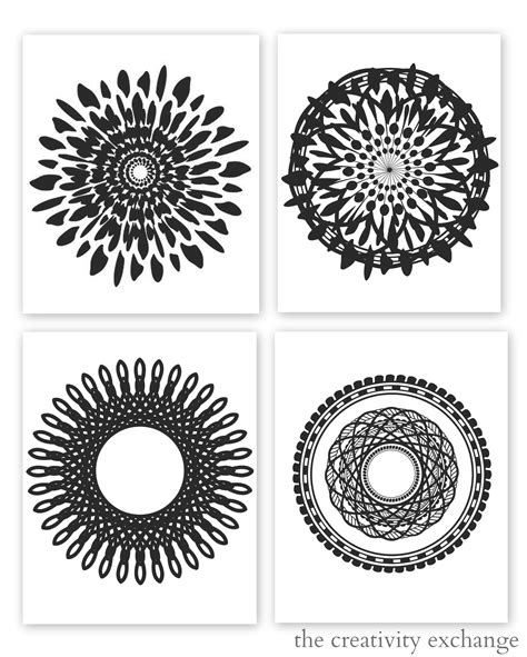 printable images black and white free printable collection of modern black and white prints
