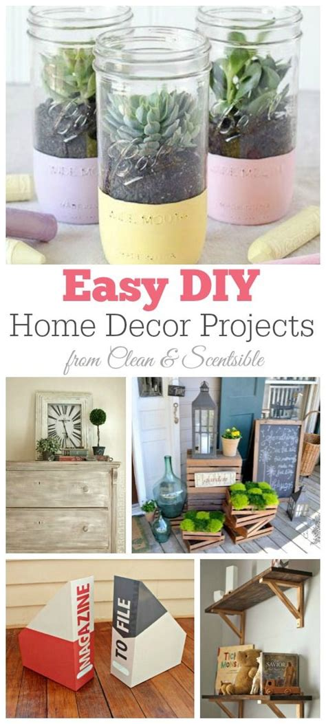 10 simply breathtaking diy home decor projects that will easy diy home decor projects i must try some of these