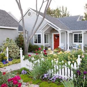 picket fence garden gardening pinterest