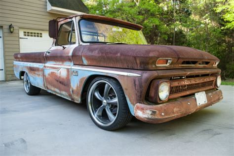 antique street ls for sale 1966 chevrolet c10 pickup street rod patina ls motor