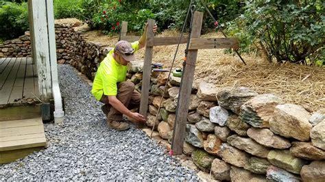 diy   build install single sided wall frame dry
