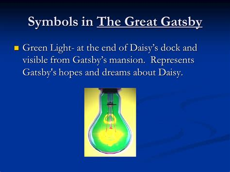 light symbolism in the great gatsby f scott fitzgerald s the great gatsby ppt download