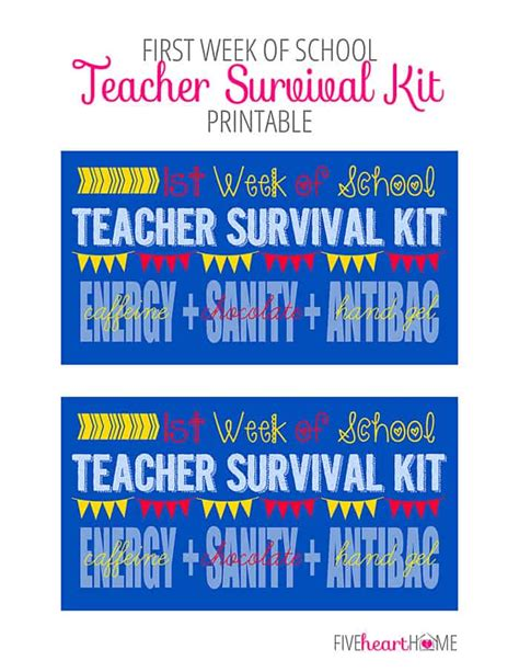 first for schools trainer 110744604x back to survival kit for students just b cause