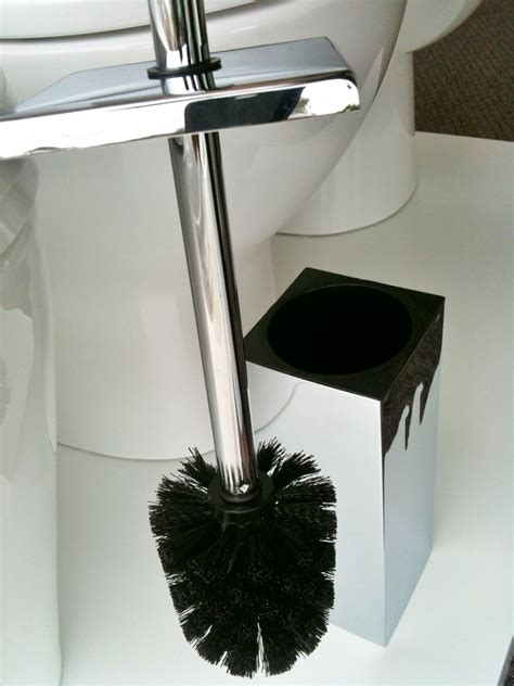 chrome square bathroom accessories toilet brush holder chrome finish square bathroom