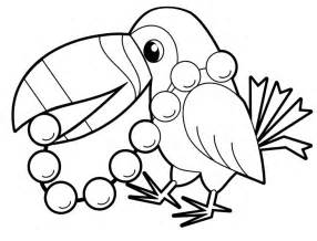 coloring pages of animals in the rainforest pict 281923