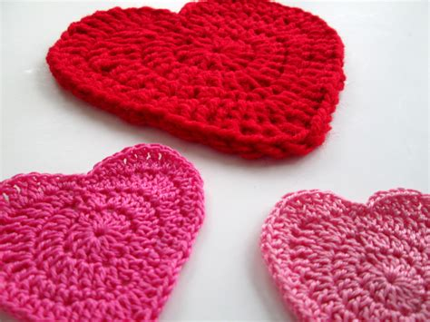 heart pattern in crochet free crochet heart pattern crochet nirvana