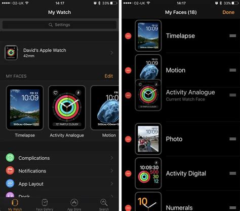 set wallpaper for apple watch how to change customise an apple watch face macworld uk