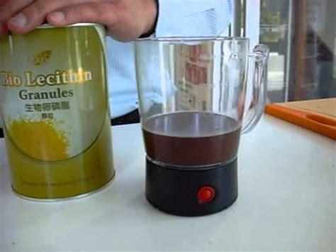 chocolate mousse with bio lecithin recipe youtube