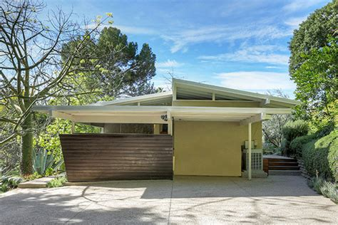 midcentury home post and beam mid century modern homes hollywood hills