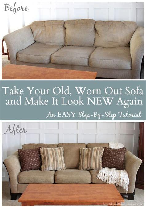 diy sofa repair 25 diy home decor ideas