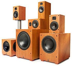 types  home theater speakers aperion audio