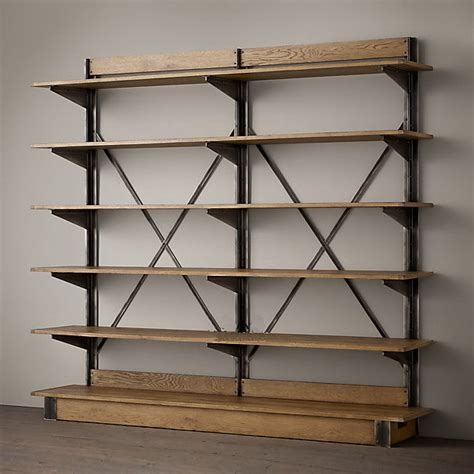 loft shelving american country mashup shelves display bookcase loft