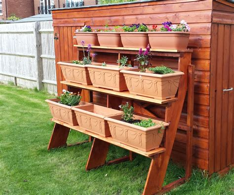 Step Planter by Stepped Planter 8 Steps With Pictures