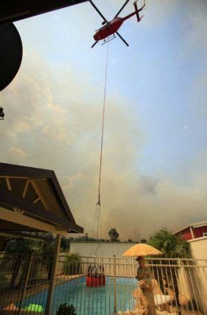 no escape as fire set to hit town in victoria