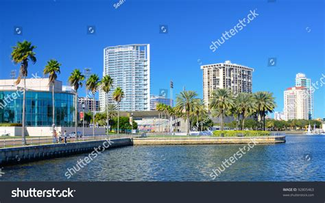 Sheds St Petersburg Fl by Buildings Along The Skyline Of St Petersburg Florida Stock Photo 92805463