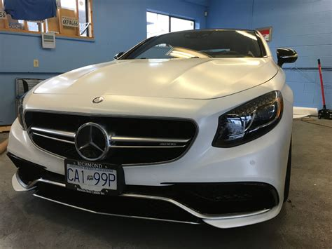 satin white s63 amg wrap wrapfolio
