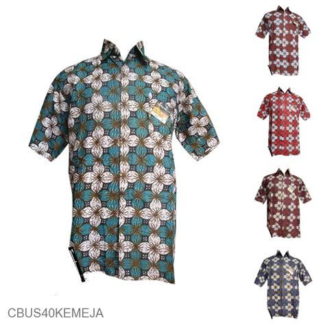 Teratai Batik baju batik sarimbit motif ceplok kembang teratai kemeja