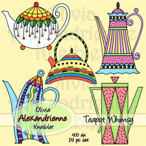 doodle bug lyrics teapot whimsy digital illustrations