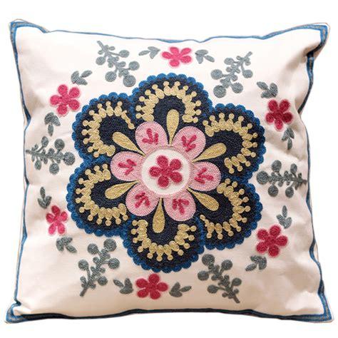 sofa cushion covers designs aliexpress com buy modern design flowers 100 cotton