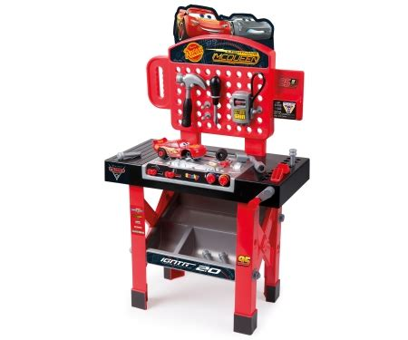 lightning mcqueen tool bench cars 3 super workbench diy role play products www