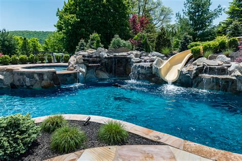 pools by design bloomsbury nj custom inground swimming pool design
