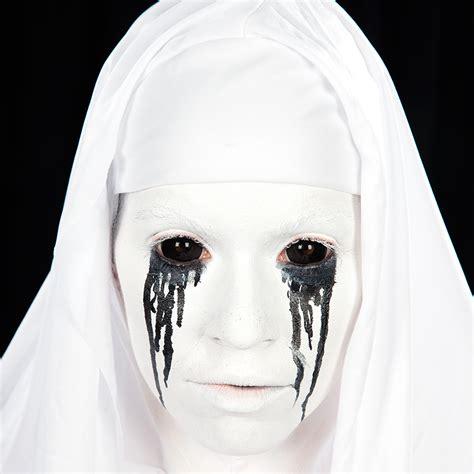 halloween schminkanleitung horror nonne halloweende