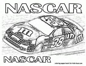 nascar coloring pages nascar coloring pages for coloring home