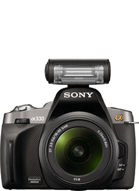 sony dslr a330 review