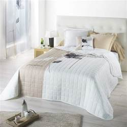 couvre lit 240 x 220 cm matelass 233 just flowers beige
