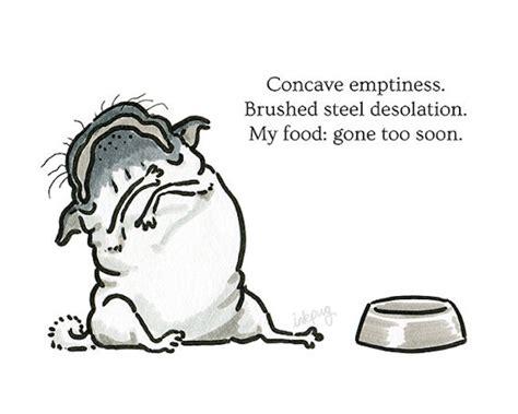 pug poems missing food