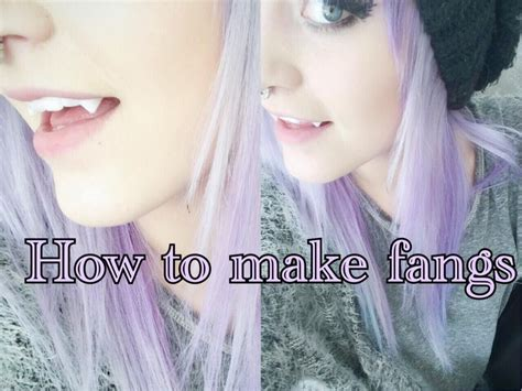 werewolf fangs tutorial how to make your own fangs with friendly plastic tutorial