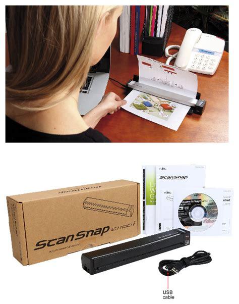 Fujitsu Scansnap S1100i fujitsu scansnap s1100i image scanner spesifikasi dan harga