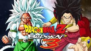 dbzb3 goku ssj5 broly ssj4 duels