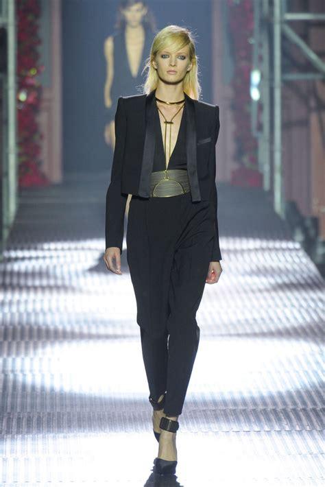Catwalk To Carpet Beckham In Dina Bar El by S Fashion Boudoir Fashion Week Lanvin