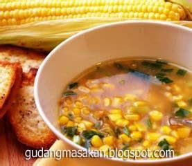 Buku Resep Masakan Step By Step Sup Daging Babi resep masakan sup jagung gudang resep masakan