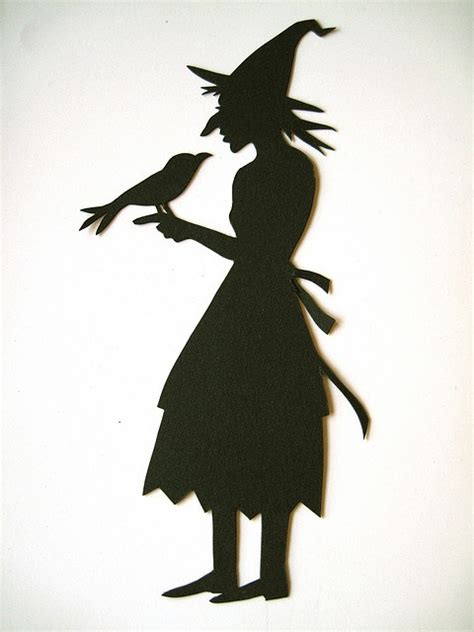 witch silhouette template pin by a boyd on and fall