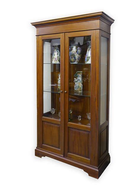 glasvitrine antik vitrine vitrinenschrank glasvitrine antik stil mahagoni