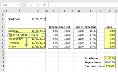 format date formula time sheet in excel easy excel tutorial