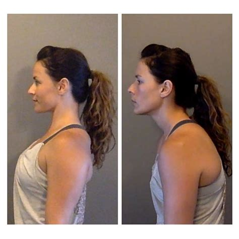 how to create rounded look to back of bob hair cut posture 1 how to fix forward head position http