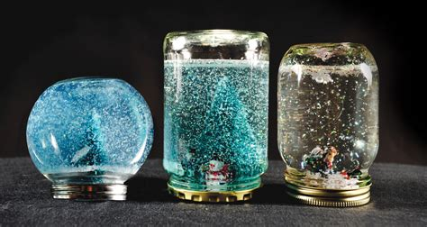 beautiful snow globes a beautiful snow globe that you can make for your ones