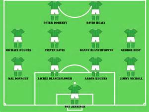 northern ireland s greatest ever squad northern ireland