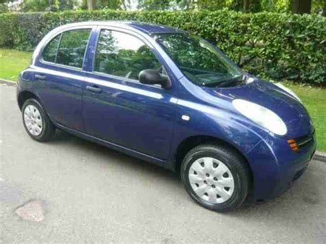 Nissan Micra 2004 Price Nissan 2004 04 Micra 1 2 S 5d 80 Bhp Car For Sale