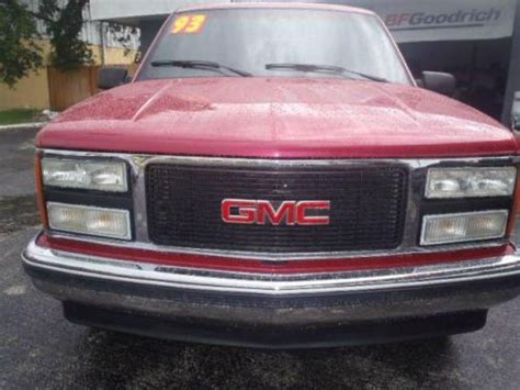 motor repair manual 1993 gmc suburban 2500 parking system sell used 1993 gmc suburban 1500 in 8501 66th st n pinellas park florida united states for